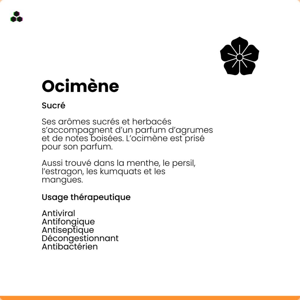 Le terpène du cannabis Ocimène